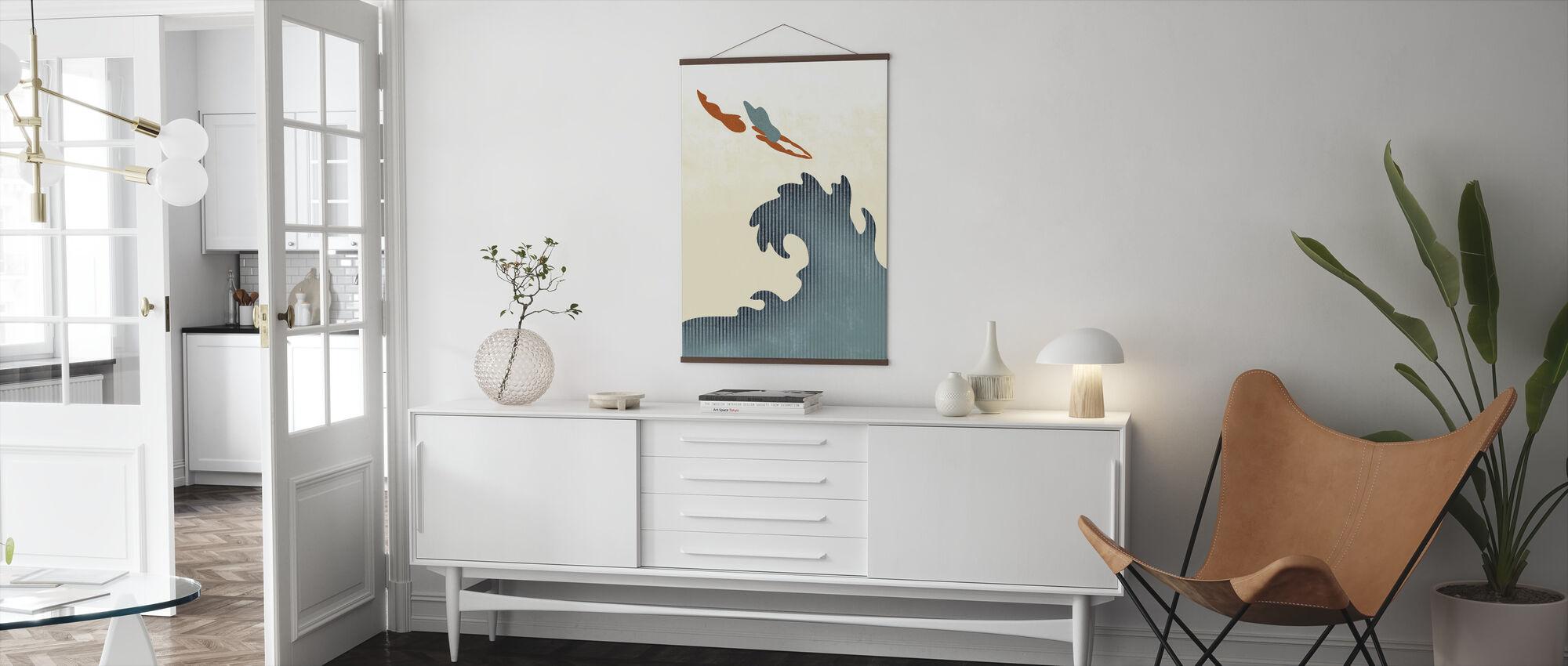 Heliga dykare - Poster - Vardagsrum