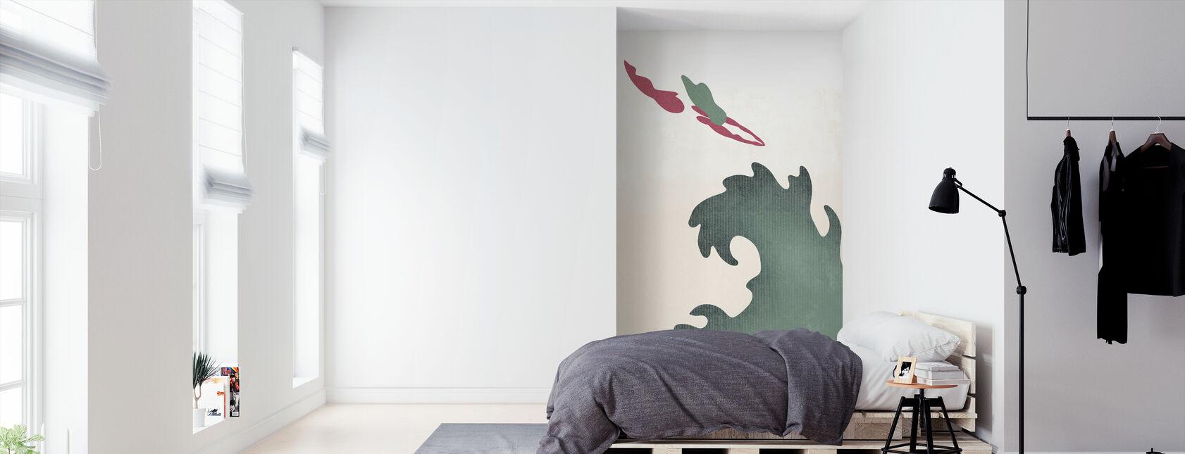Heilige Duiker - Groen - Behang - Slaapkamer