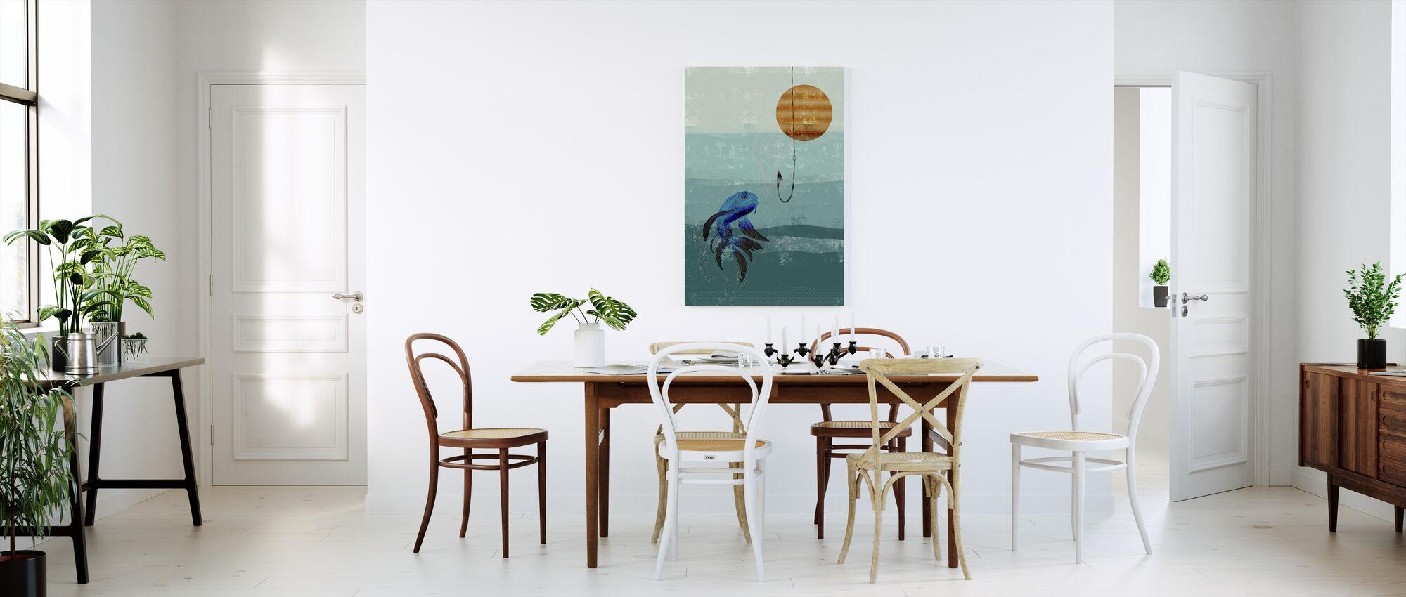 Kala-säiliö - Canvastaulu - Keittiö
