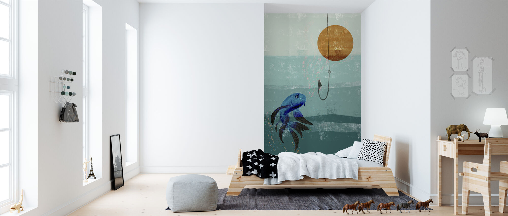 Fish Tank - Wallpaper - Kids Room