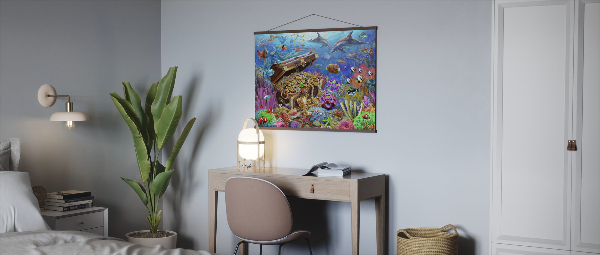 Undersjøiske skatten - Plakat - Kontor