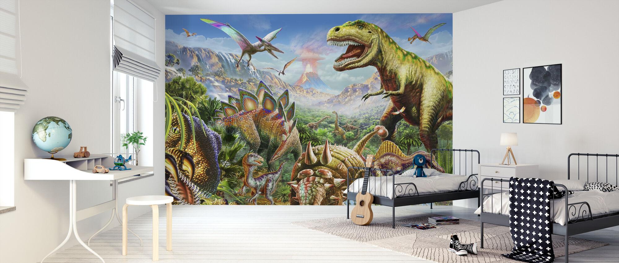 Grupo Dino - Papel pintado - Cuarto de niños
