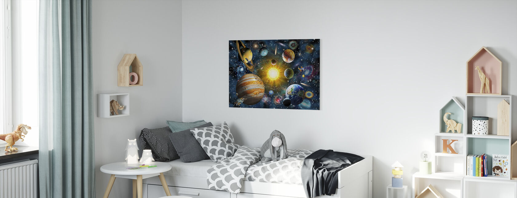 OurSolarSystem - Canvas print - Kids Room