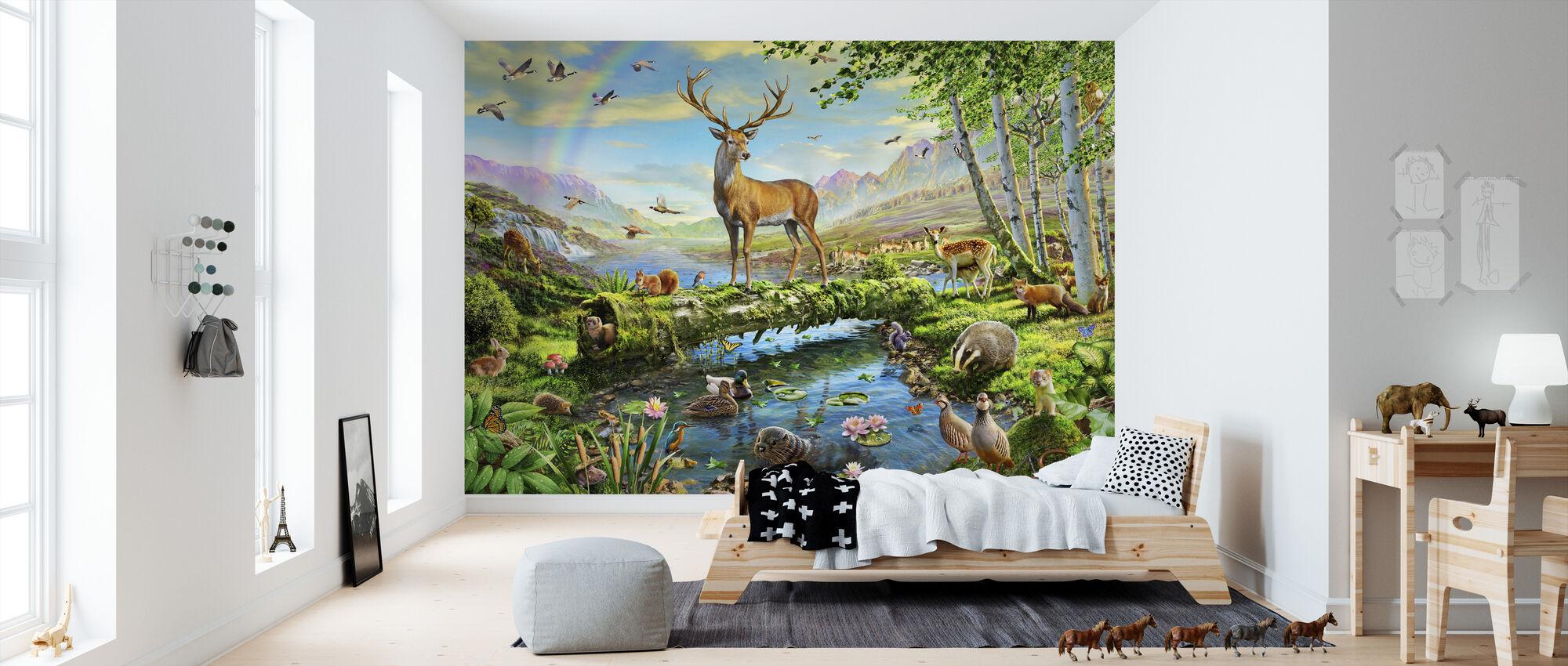Wildlife Splendor UK - Tapetti - Lastenhuone