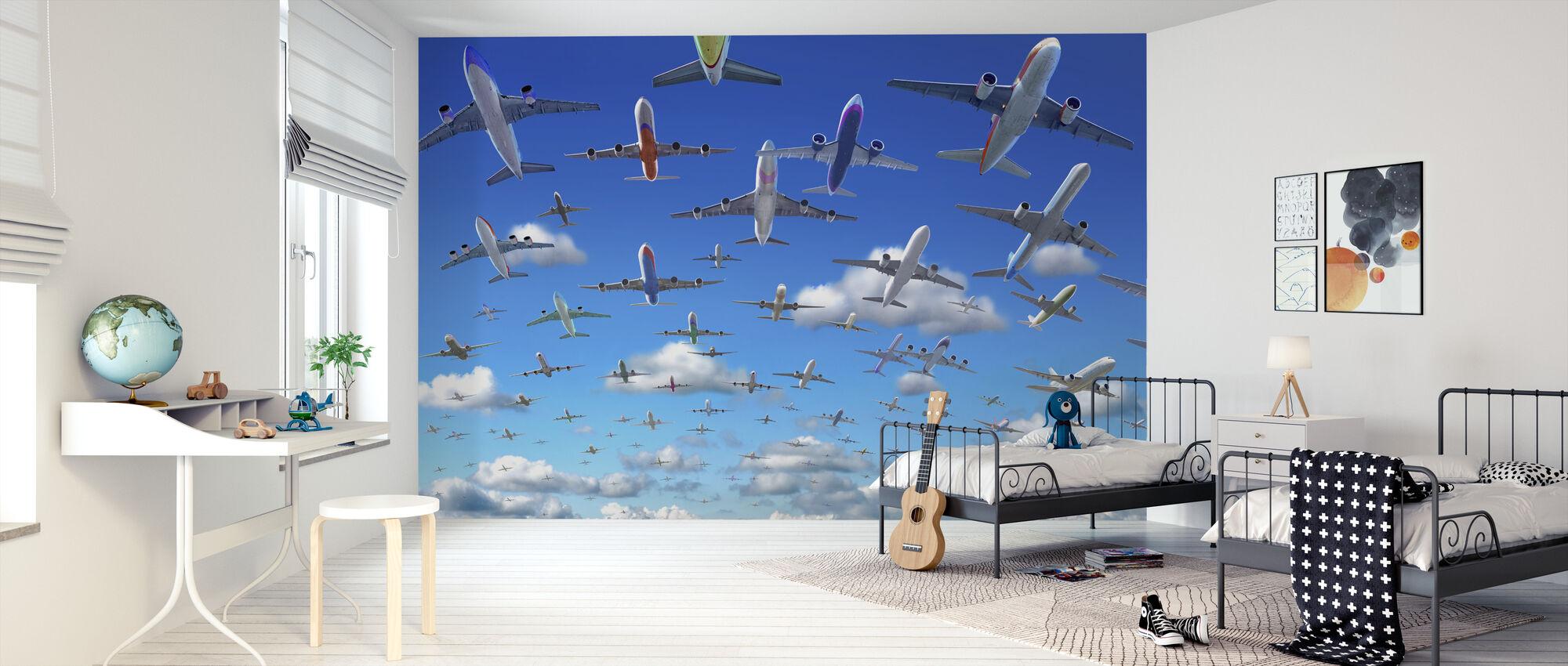 Tungosta taivas - Tapetti - Lastenhuone