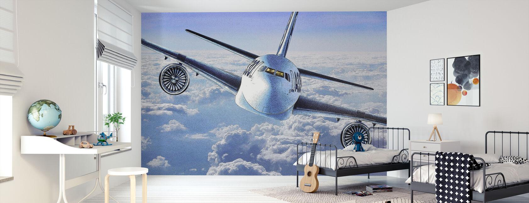 A330-juliste - Tapetti - Lastenhuone