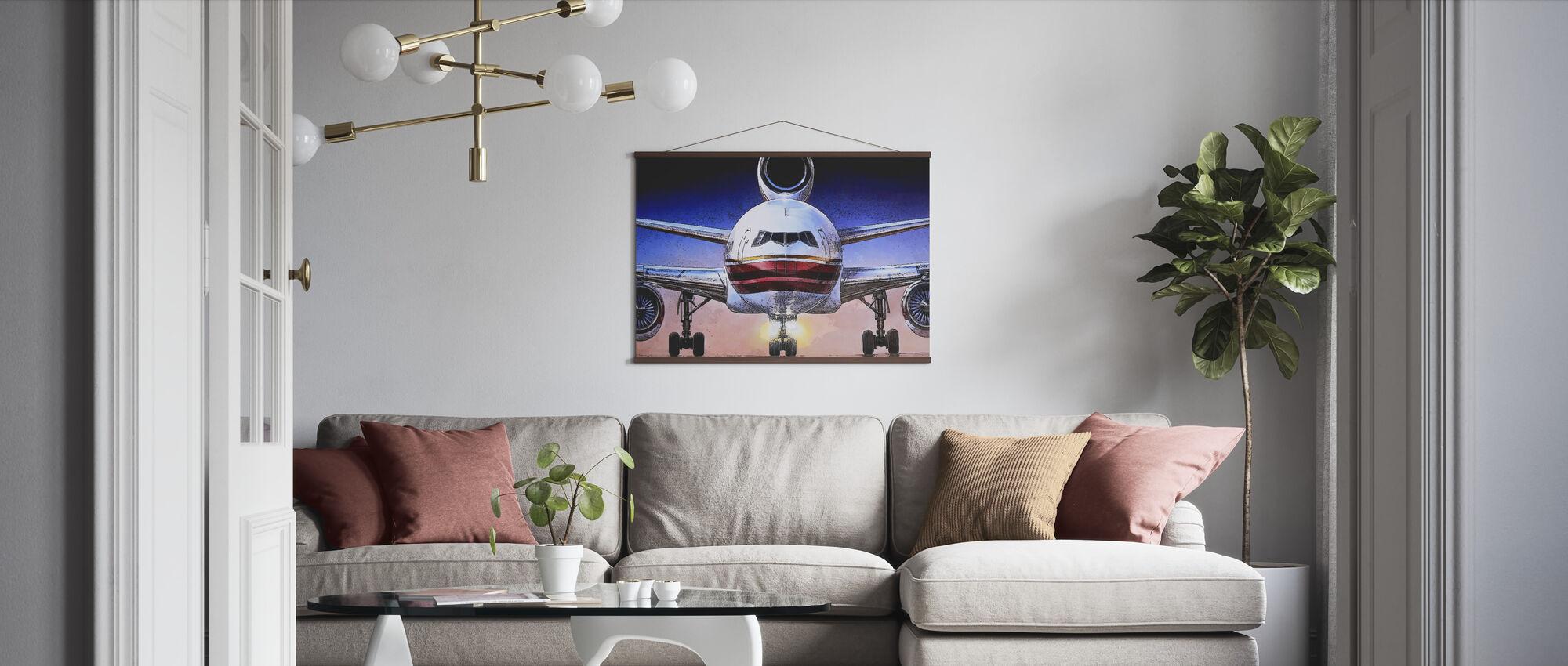 Airbus-juliste - Juliste - Olohuone