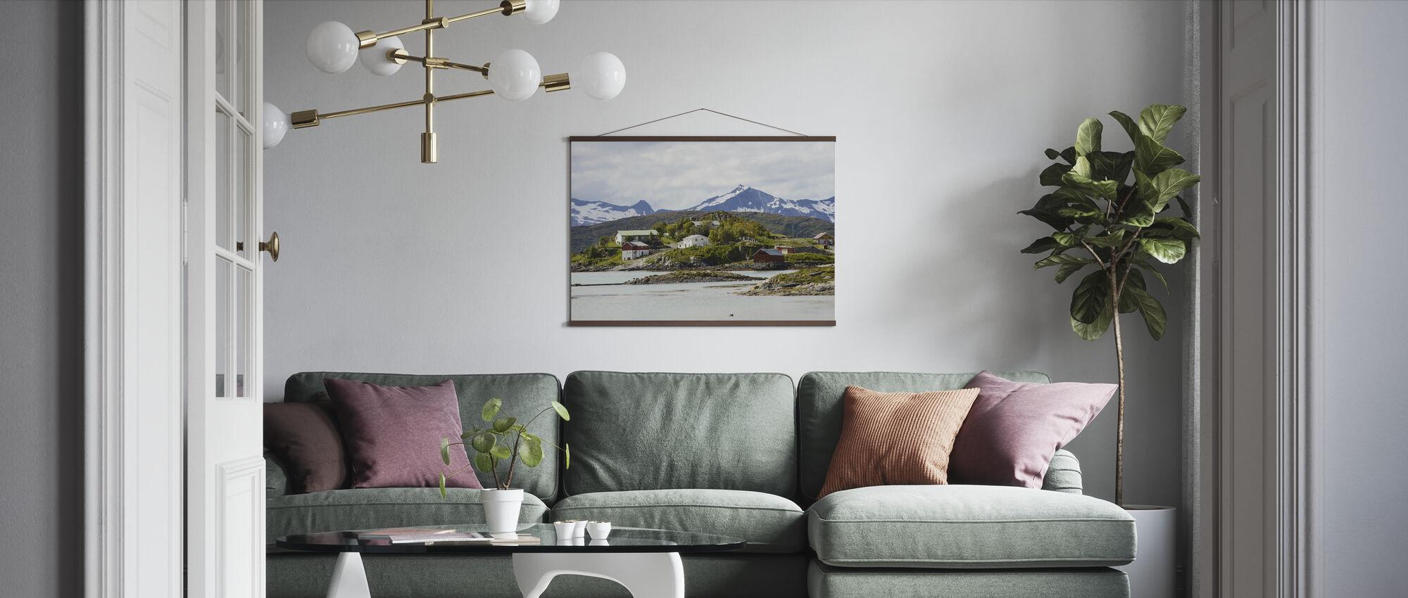 Fiske by - Poster - Vardagsrum
