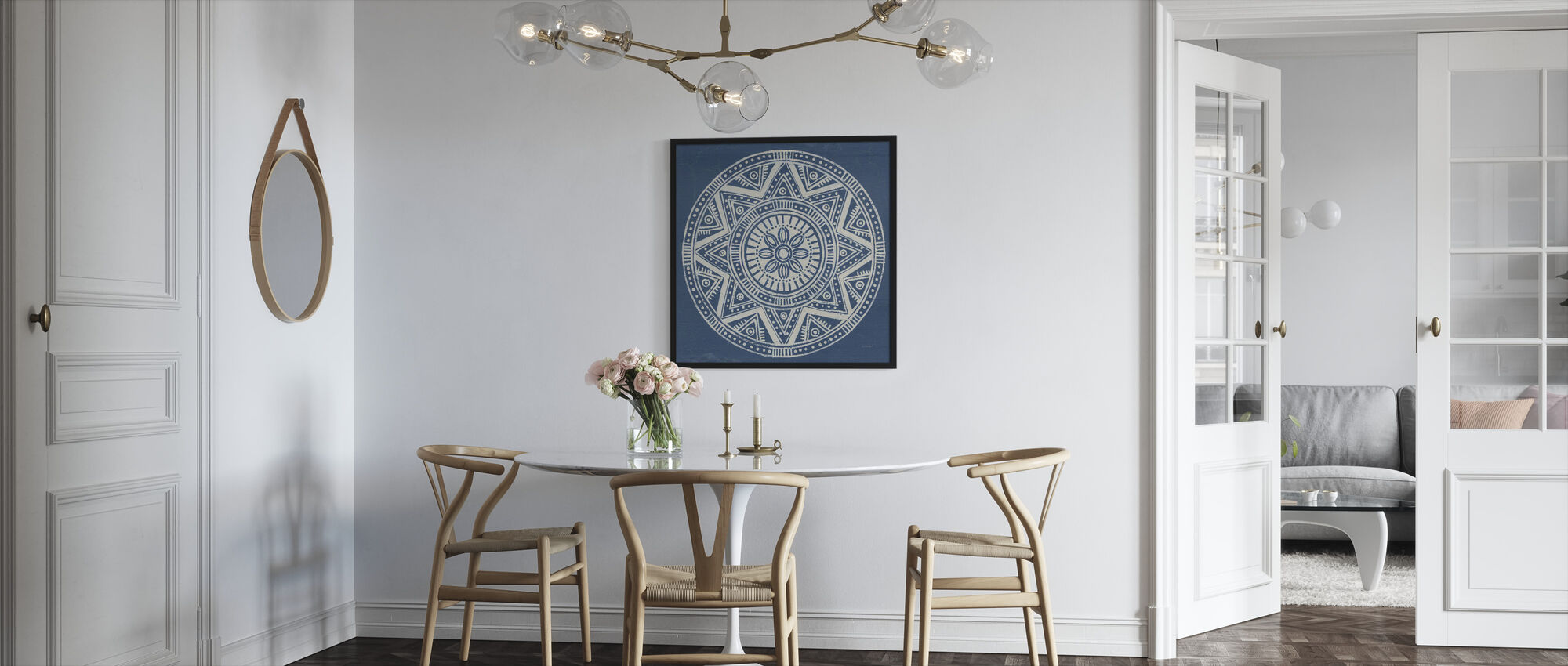 Seville Mandala I - Framed print - Kitchen