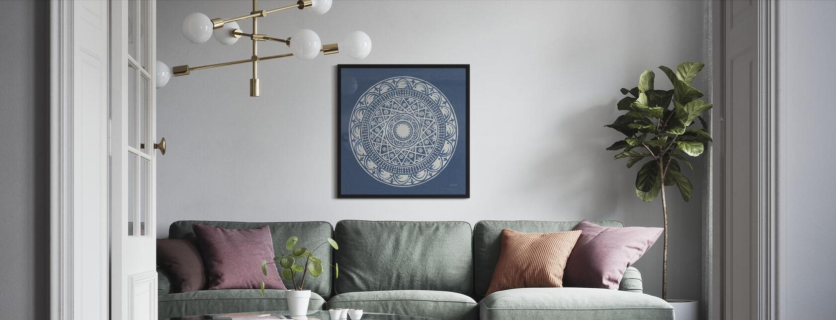 Sevilla Mandala III - Indrammet billede - Stue