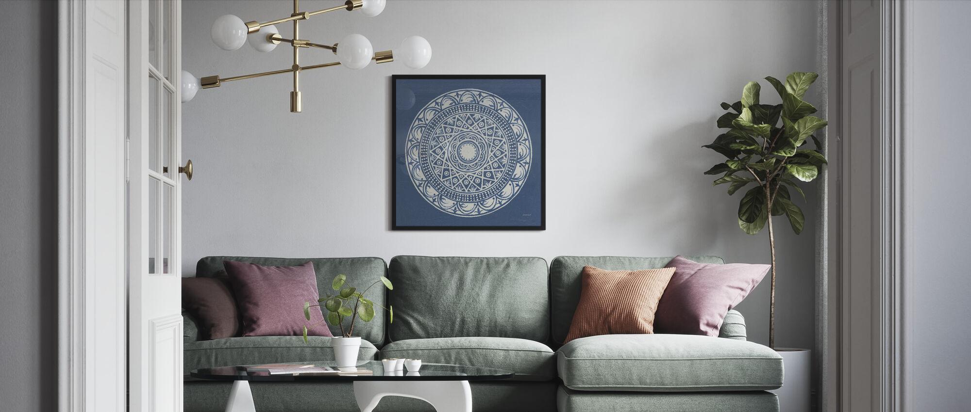 Seville Mandala III - Framed print - Living Room