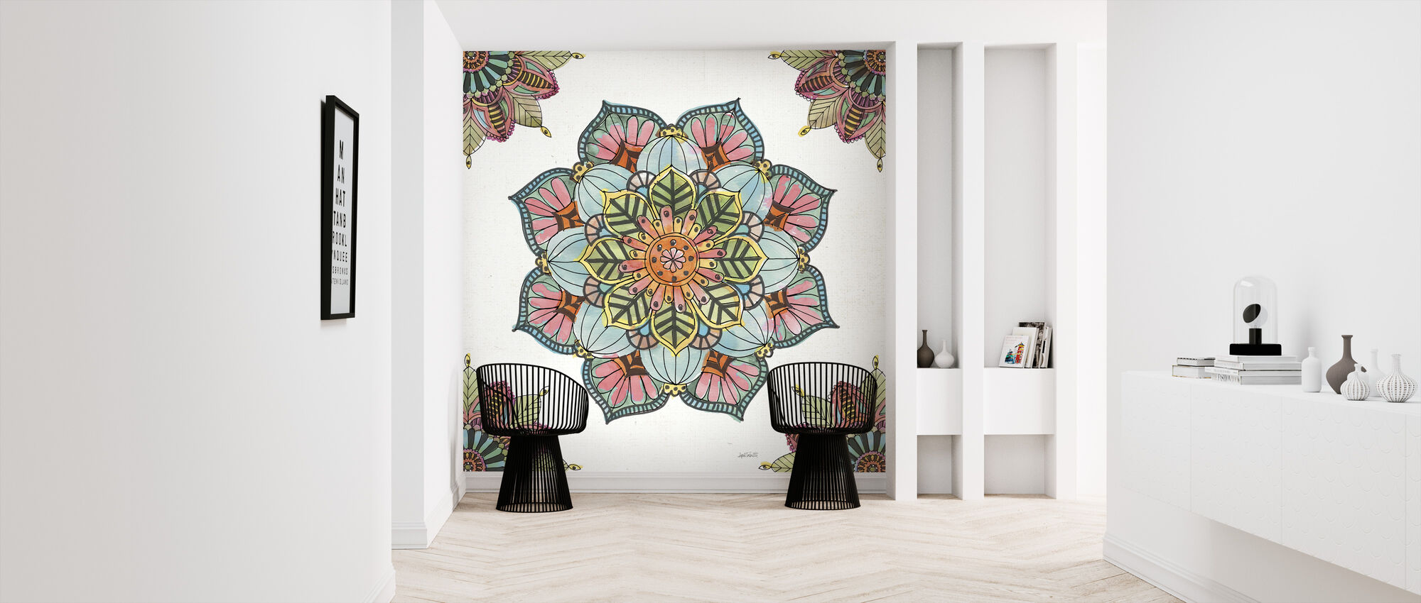 Mandala Morning - Wallpaper - Hallway