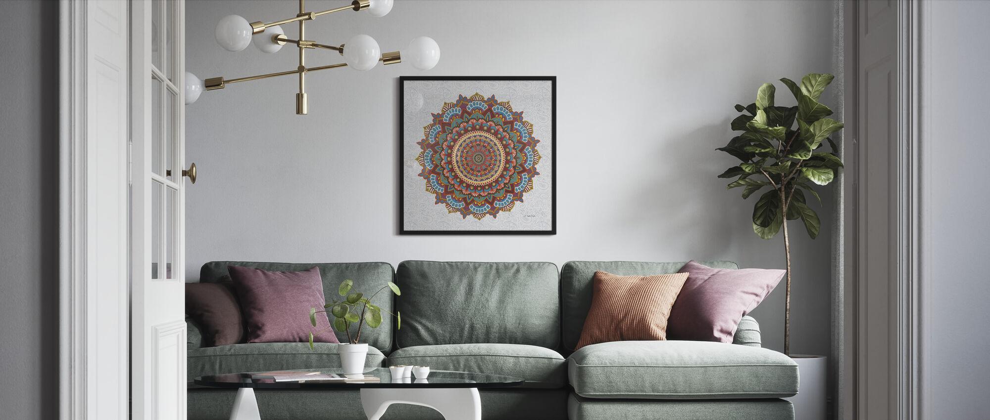 Mandala Dream - Framed print - Living Room