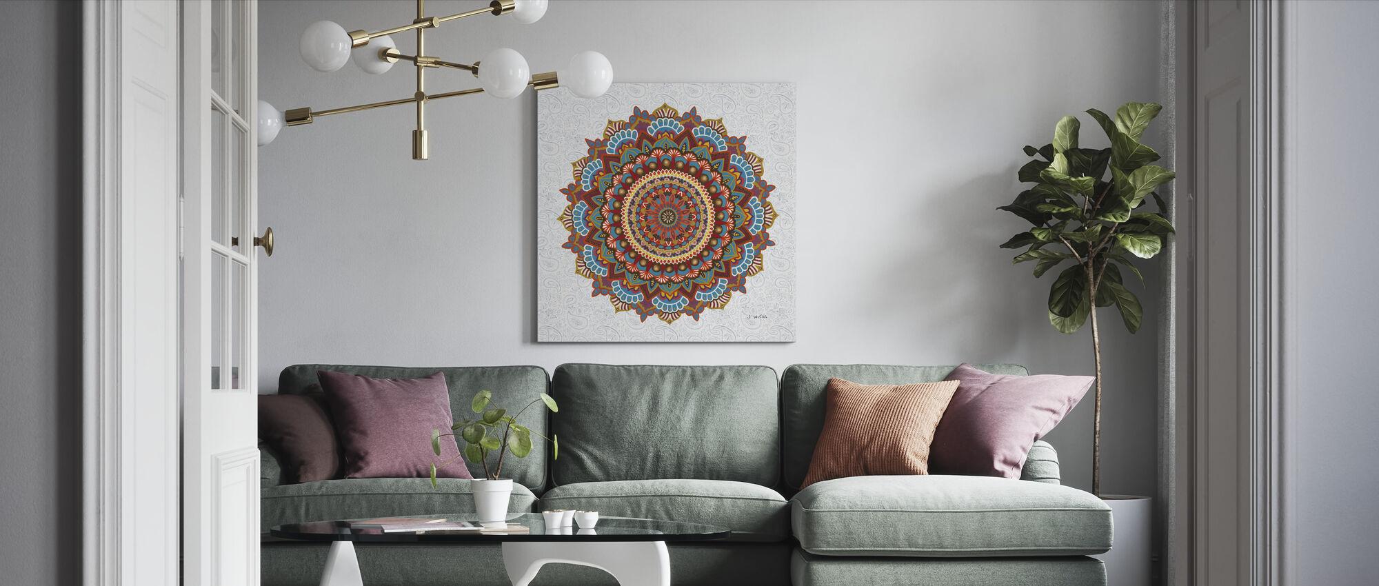 Mandalan unelma - Canvastaulu - Olohuone