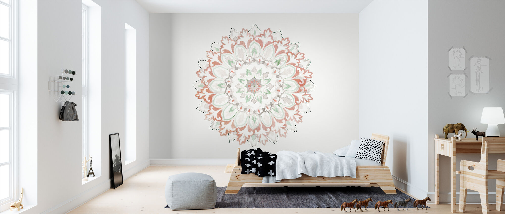 Mandala Delight II - Wallpaper - Kids Room
