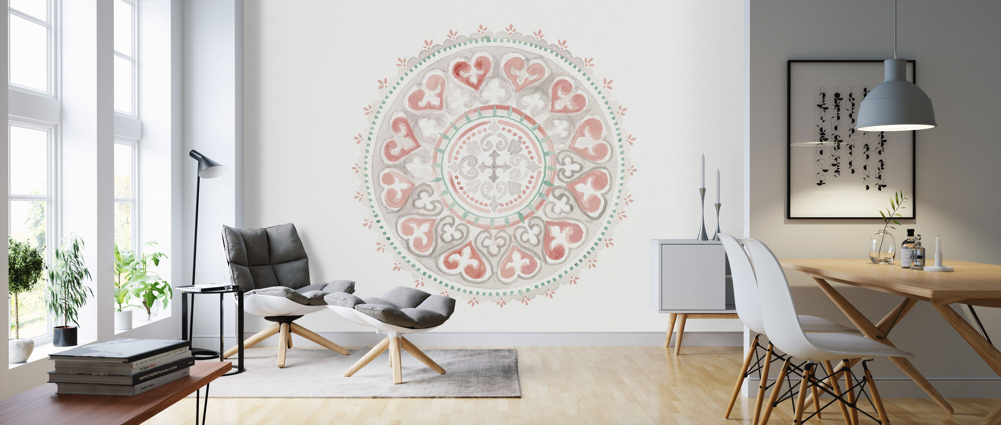 Mandala Delight III - Wallpaper - Living Room