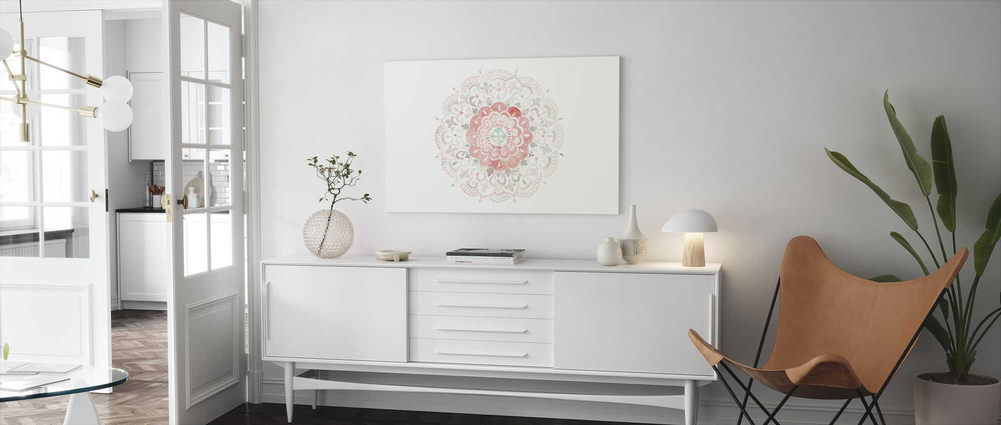Mandala Delight IIII - Canvas print - Living Room