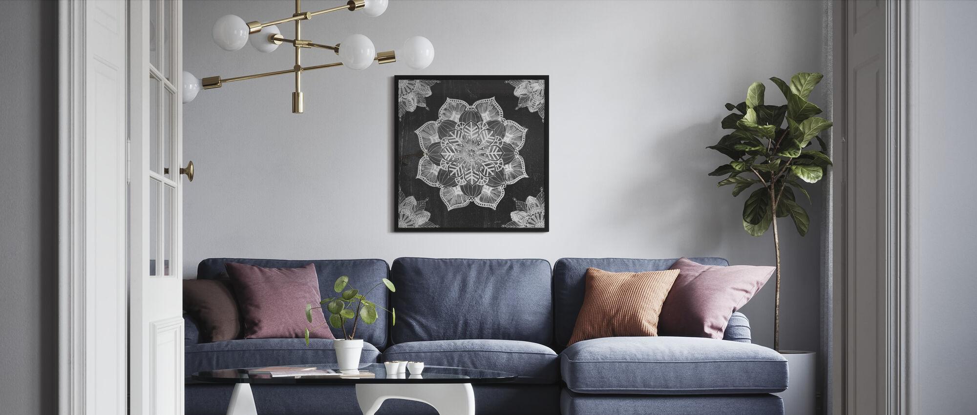 Mandala Morning - Framed print - Living Room