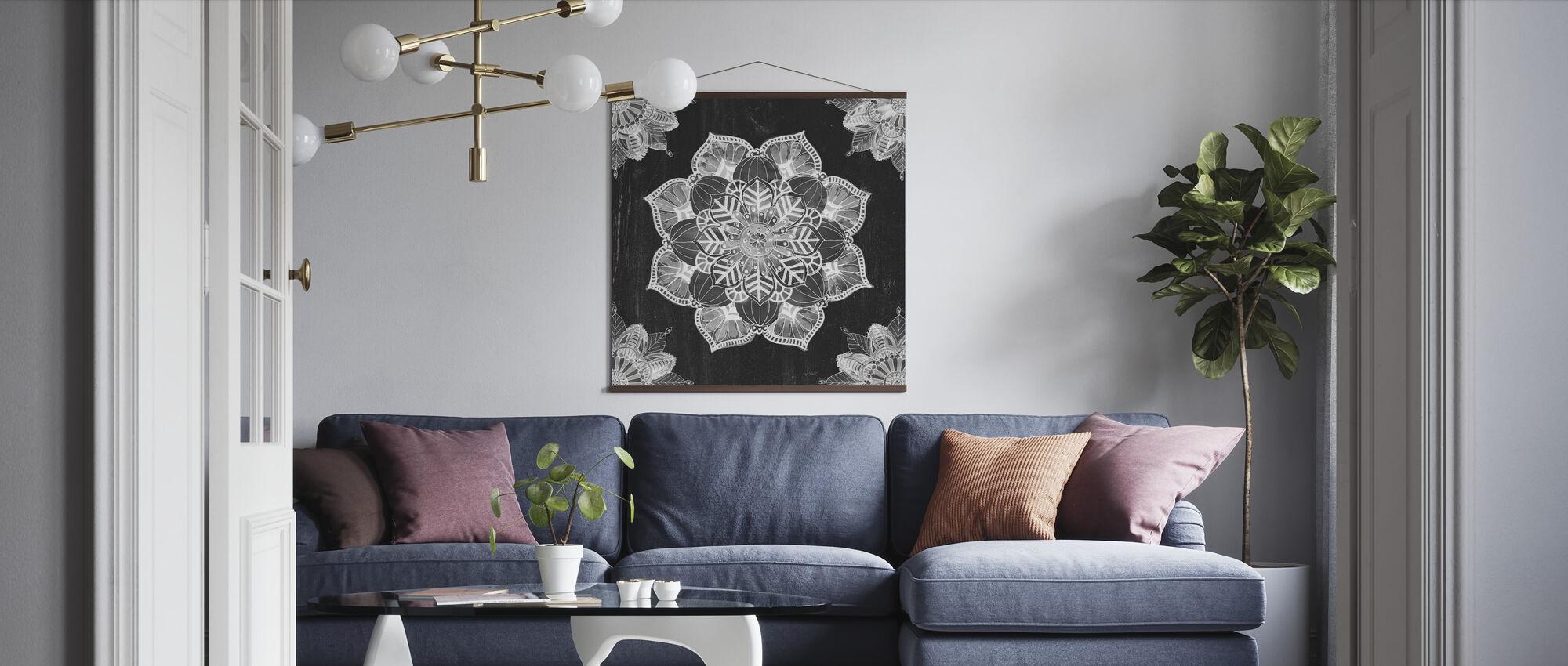 Mandala Morning - Poster - Living Room