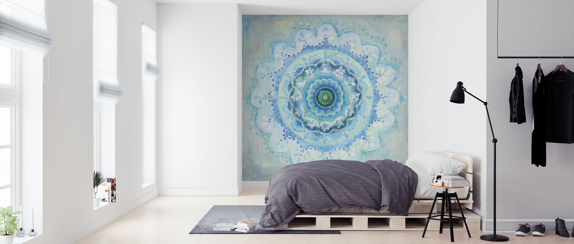 Coastal Mandala - Wallpaper - Bedroom