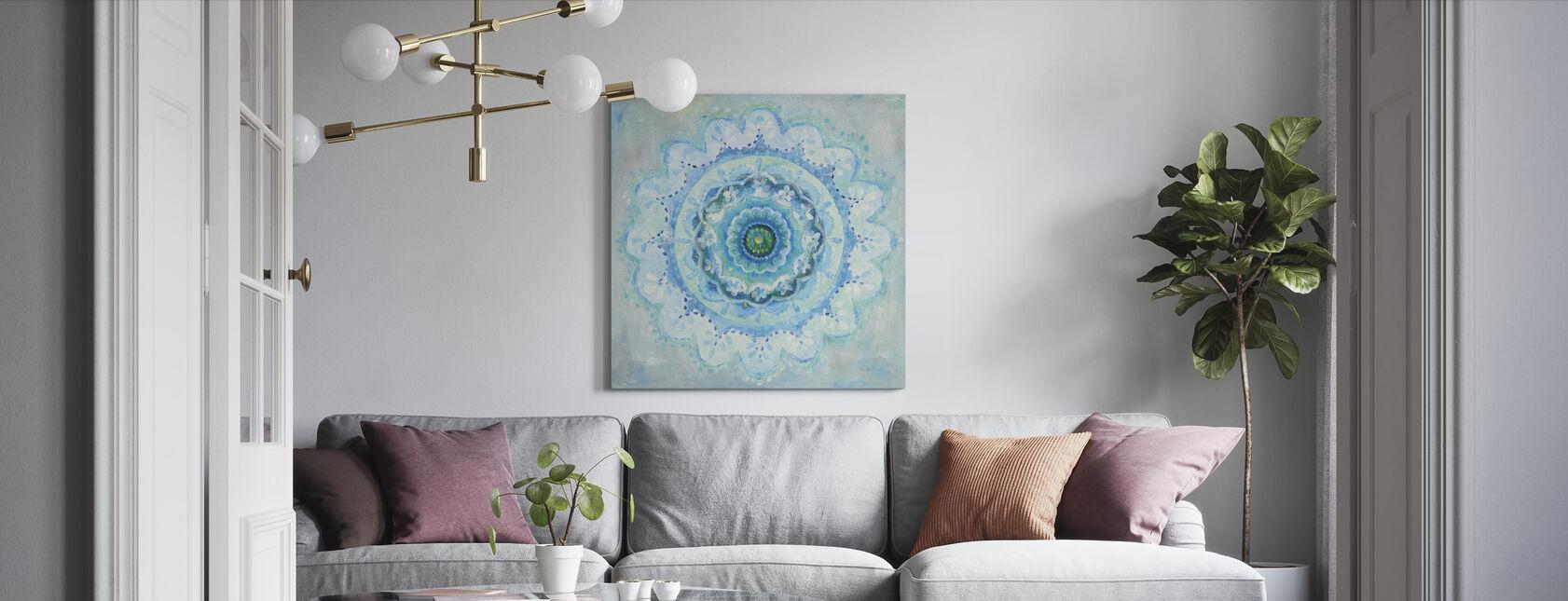 Przybrzeżna Mandala - Obraz na płótnie - Pokój dzienny