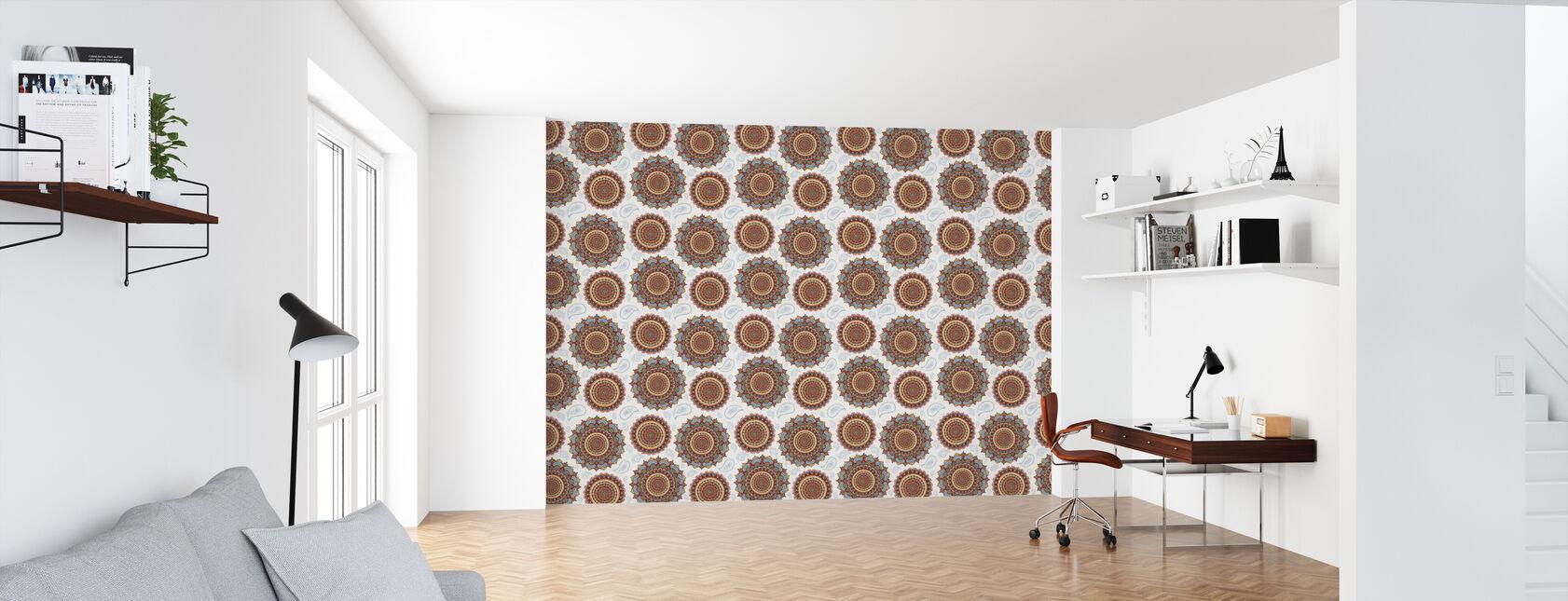 Mandala Dream Pattern - Wallpaper - Office