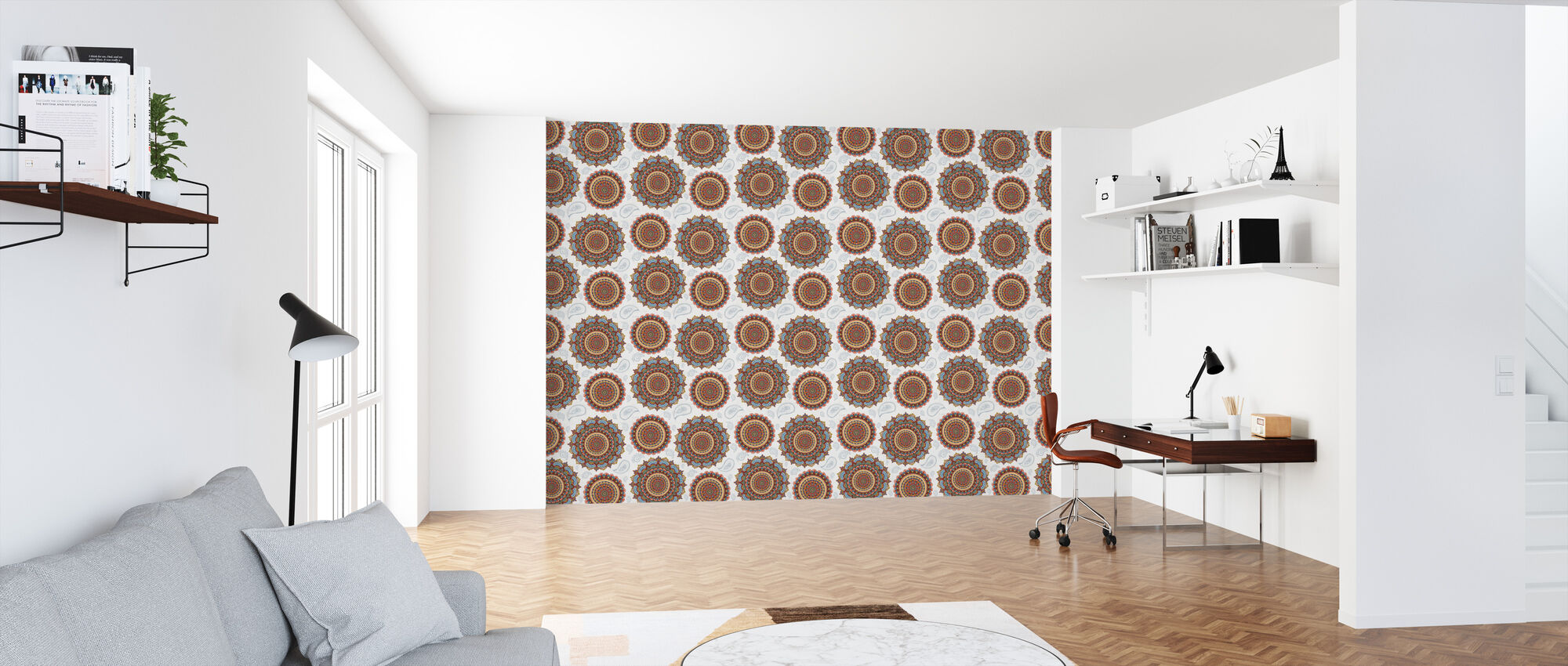 Mandala Dream Pattern - Wallpaper - Office