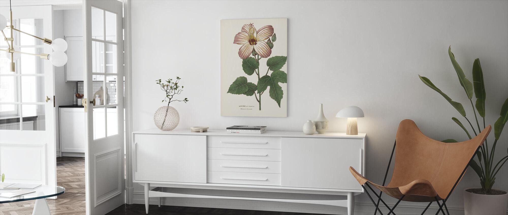 Antikk botanisk II krem - Lerretsbilde - Stue