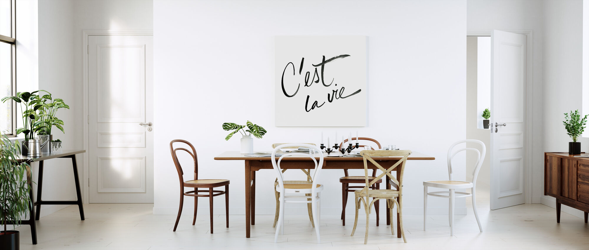 It's Life - Canvas print - Kitchen