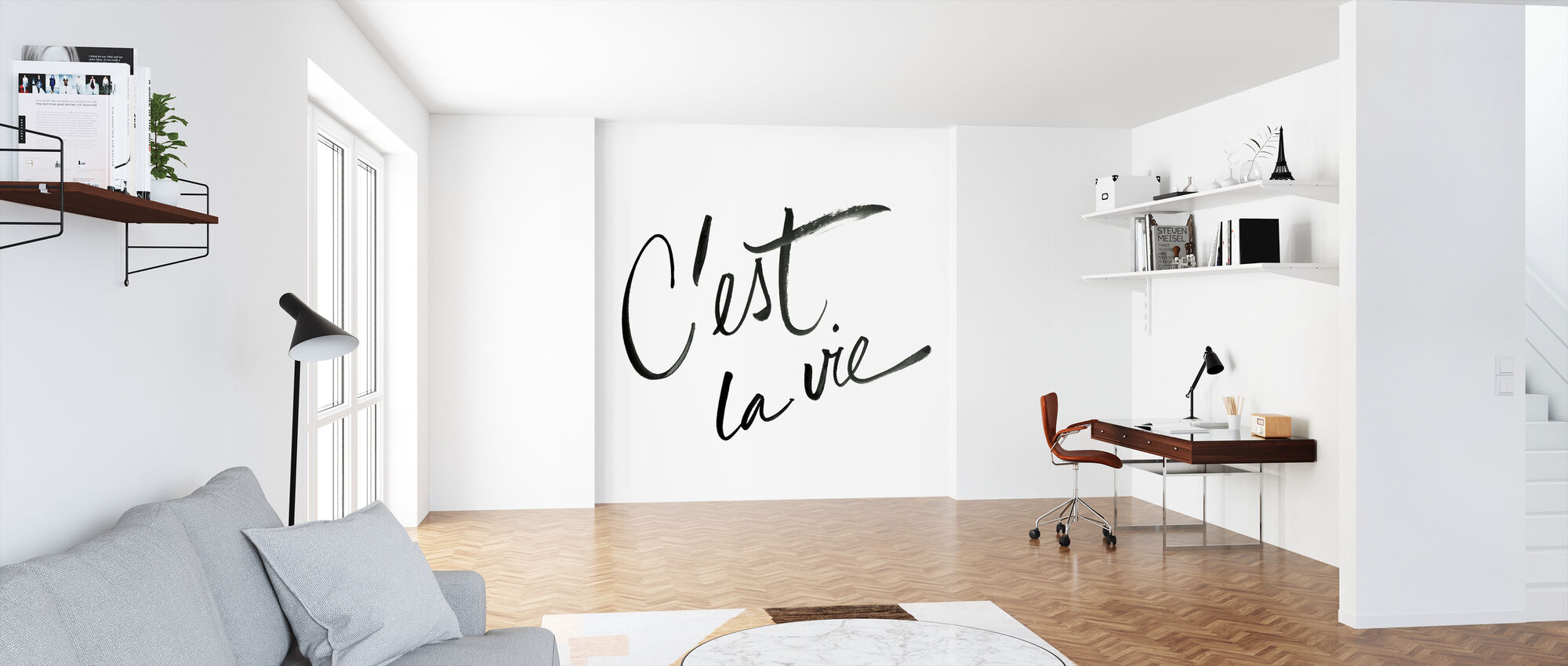 Cest La Vie A Wall Mural For Every Room Photowall