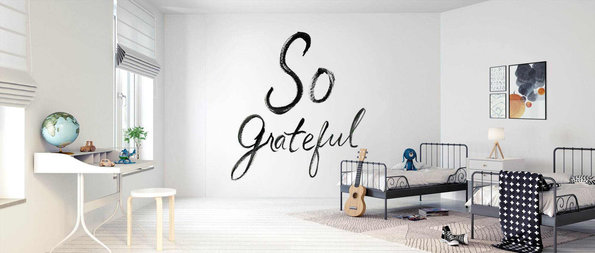 So Grateful - Wallpaper - Kids Room