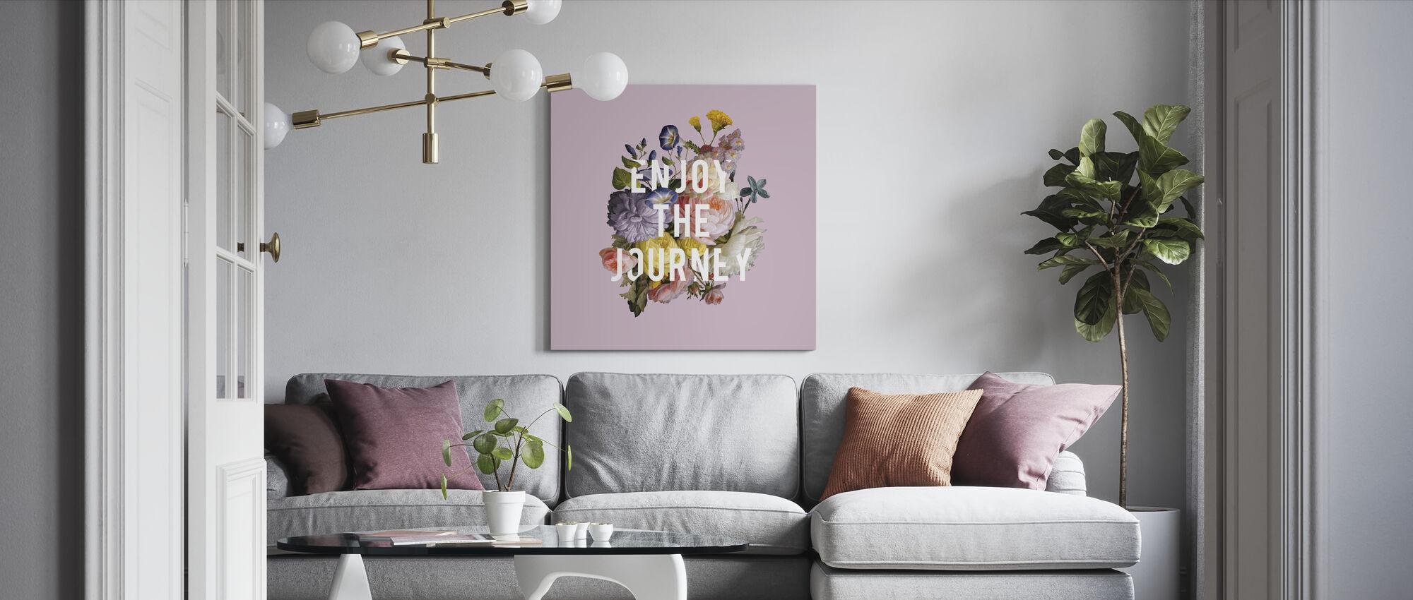 Floral Sentiment II - Canvas print - Living Room