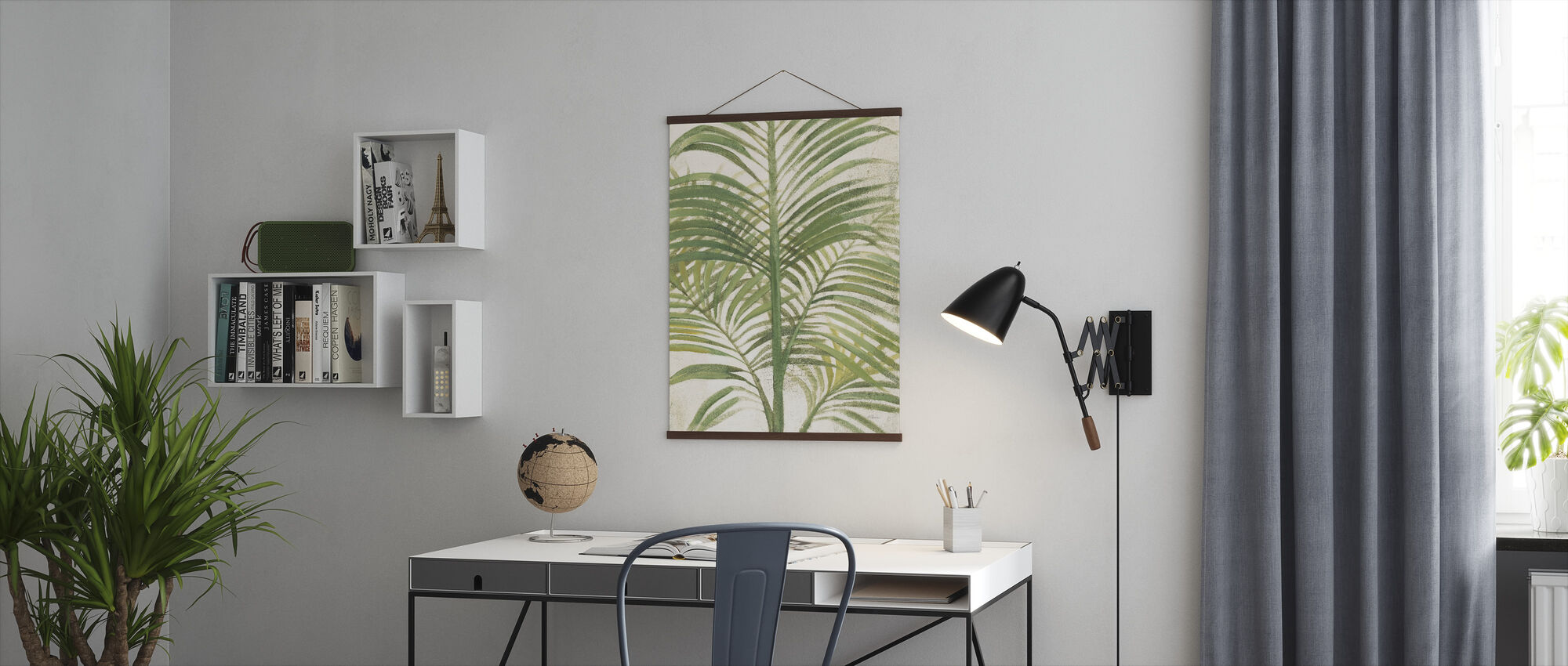 Palms II Bright - Poster - Office