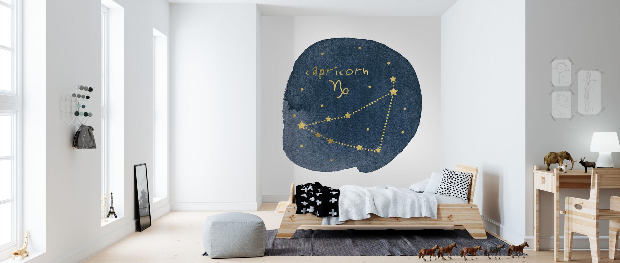 Horoscope Capricorn - Wallpaper - Kids Room