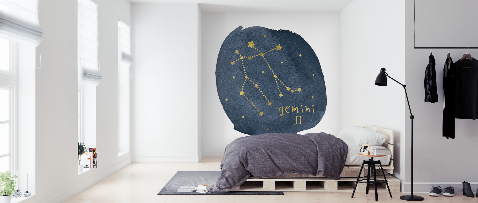 Horoscope Gemini - Wallpaper - Bedroom