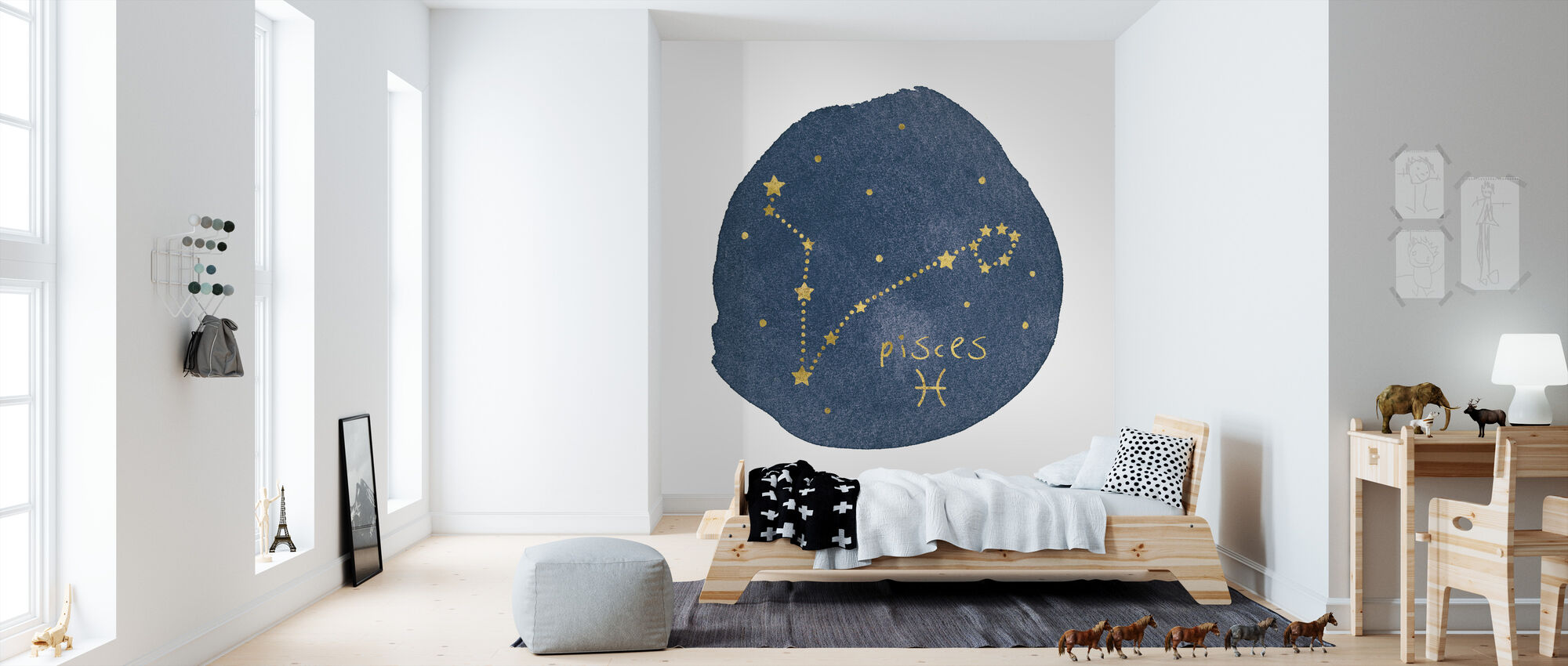 Horoskop Fiskarna - Tapet - Barnrum