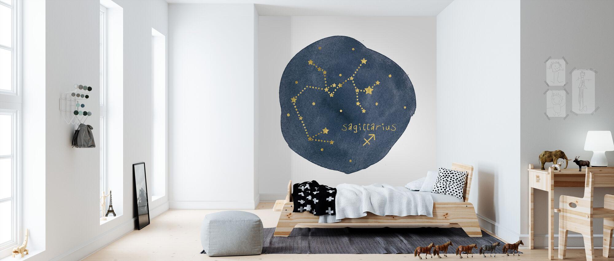 Horoscope Sagittarius - Wallpaper - Kids Room