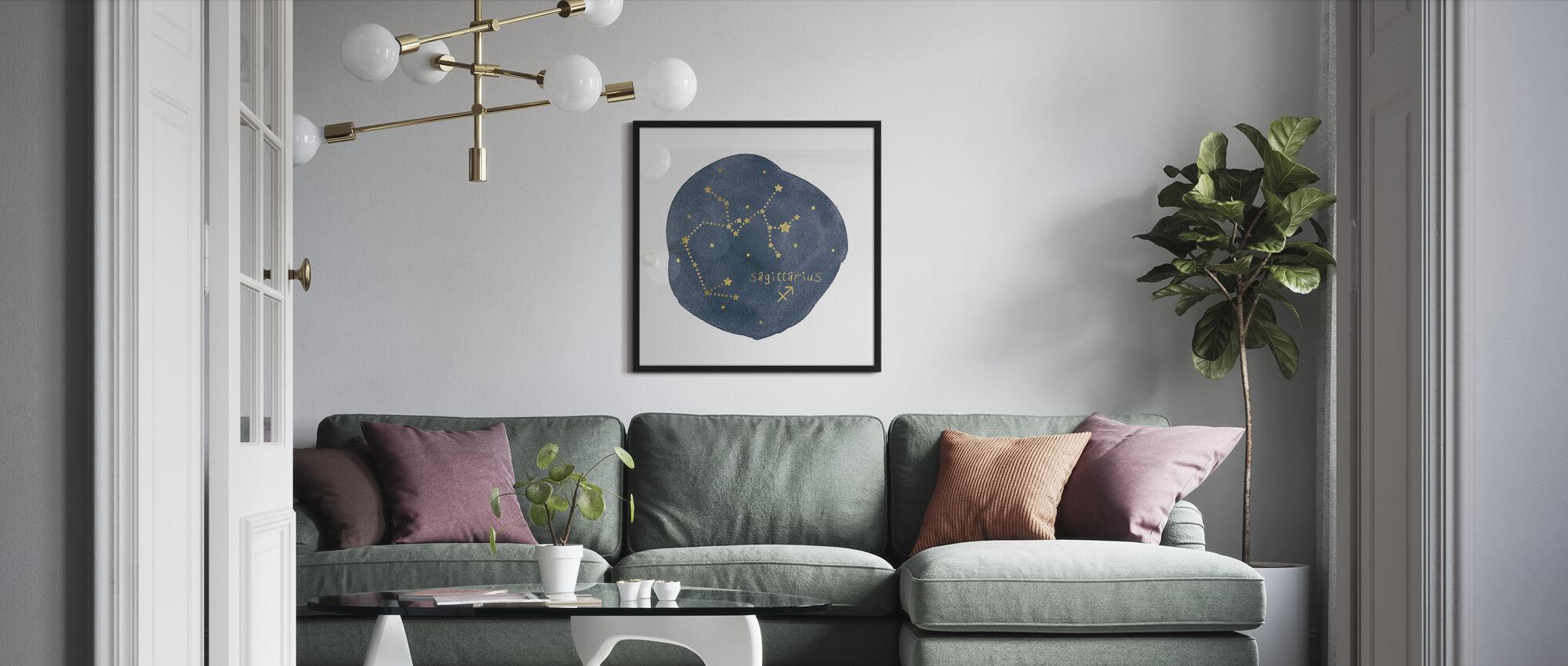 Horoskop Skytten - Innrammet bilde - Stue