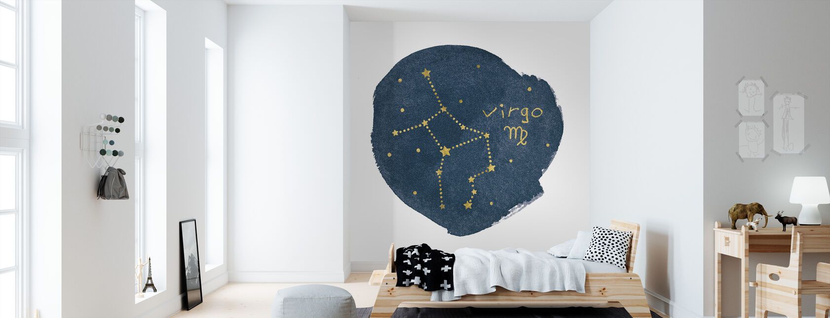 Horoscope Virgo - Wallpaper - Kids Room