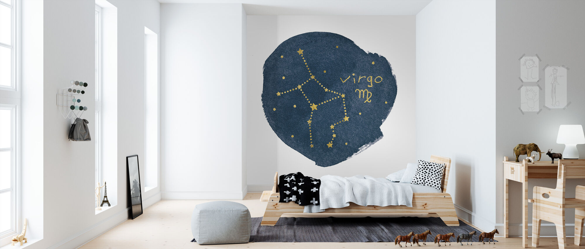 Horoscope Virgo - Wallpaper - Kids Room
