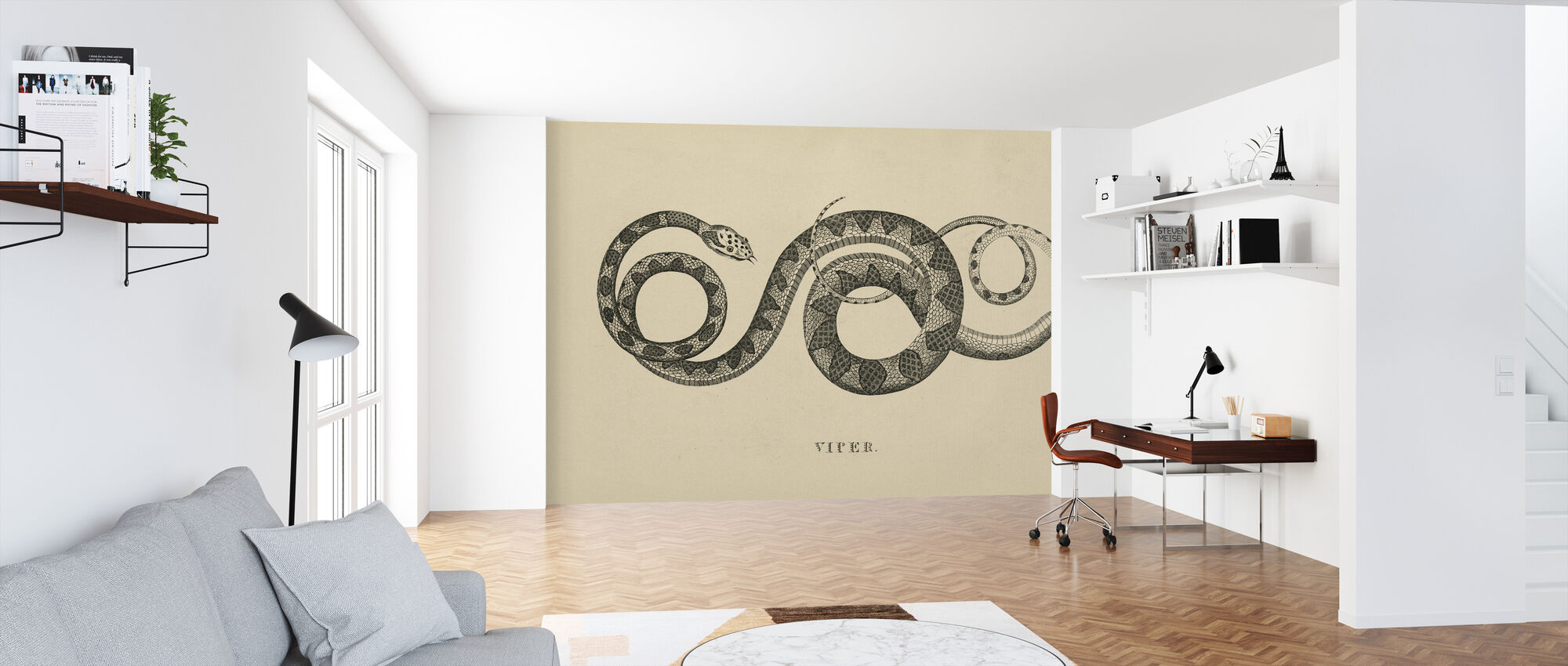 Vintage Viper - Wallpaper - Office