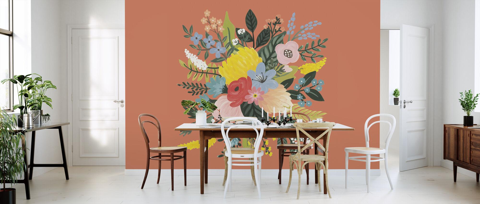 Wild Garden VIII - Wallpaper - Kitchen