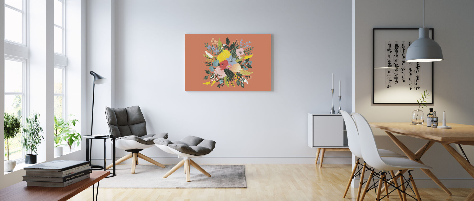 Wilder Garten VIII - Leinwandbild - Wohnzimmer