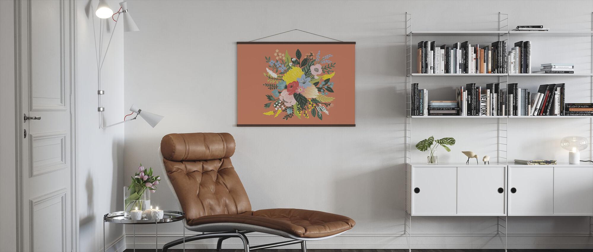 Wilde Tuin VIII - Poster - Woonkamer