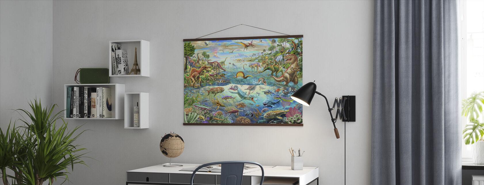 Förhistoriska paradis - Poster - Kontor