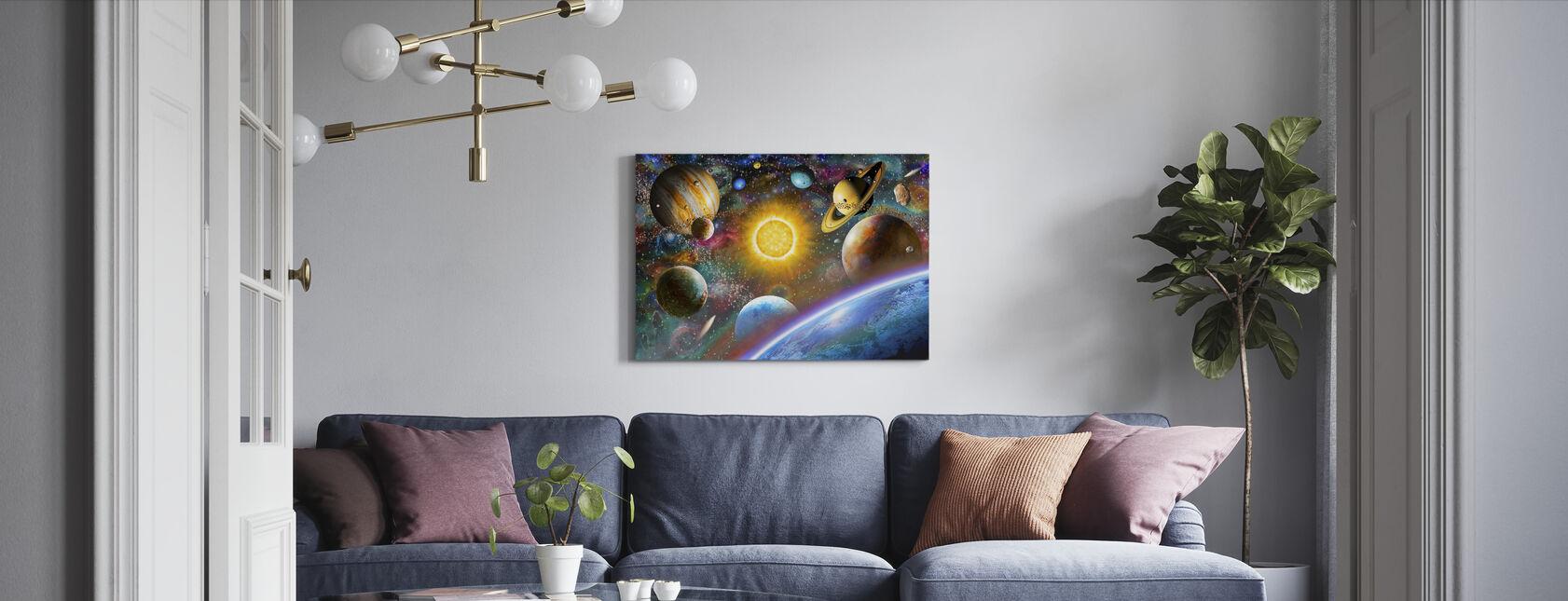 Weltraum - Leinwandbild - Wohnzimmer