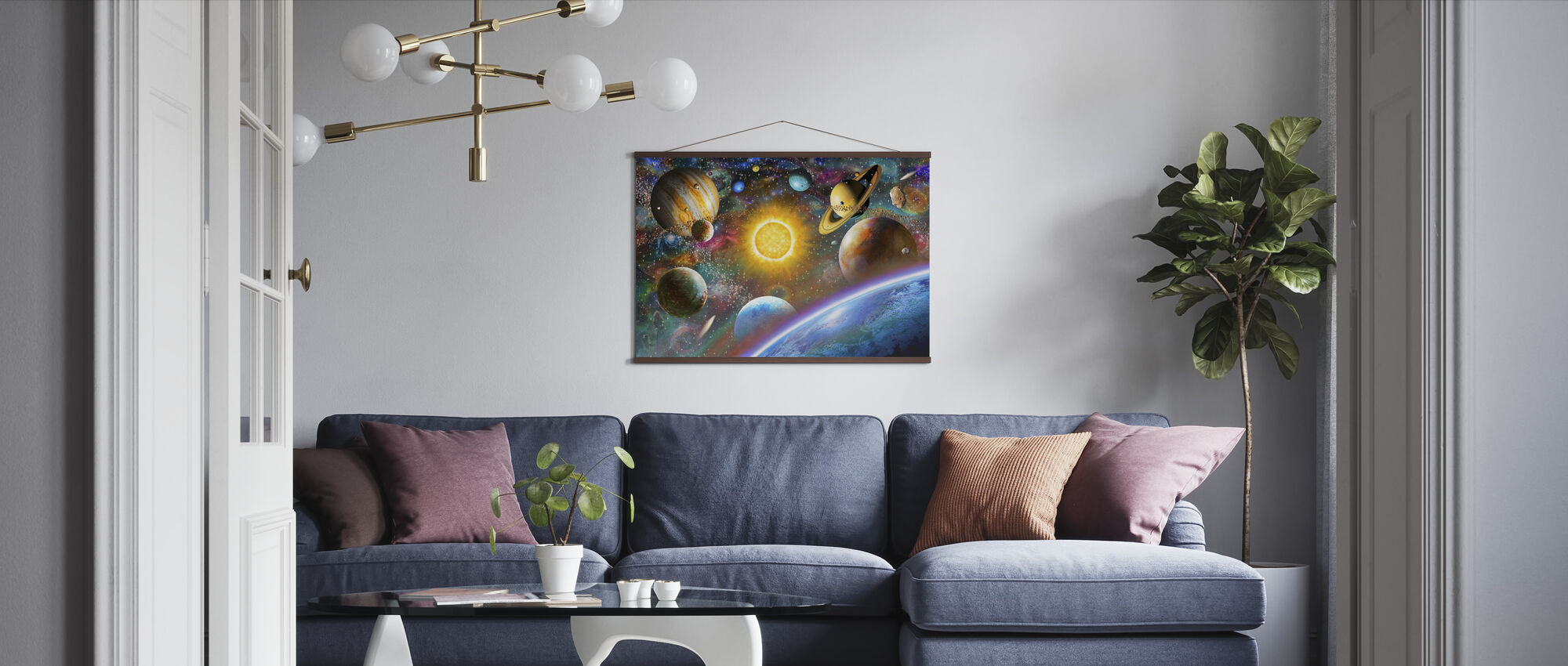 Outer Space - Poster - Living Room