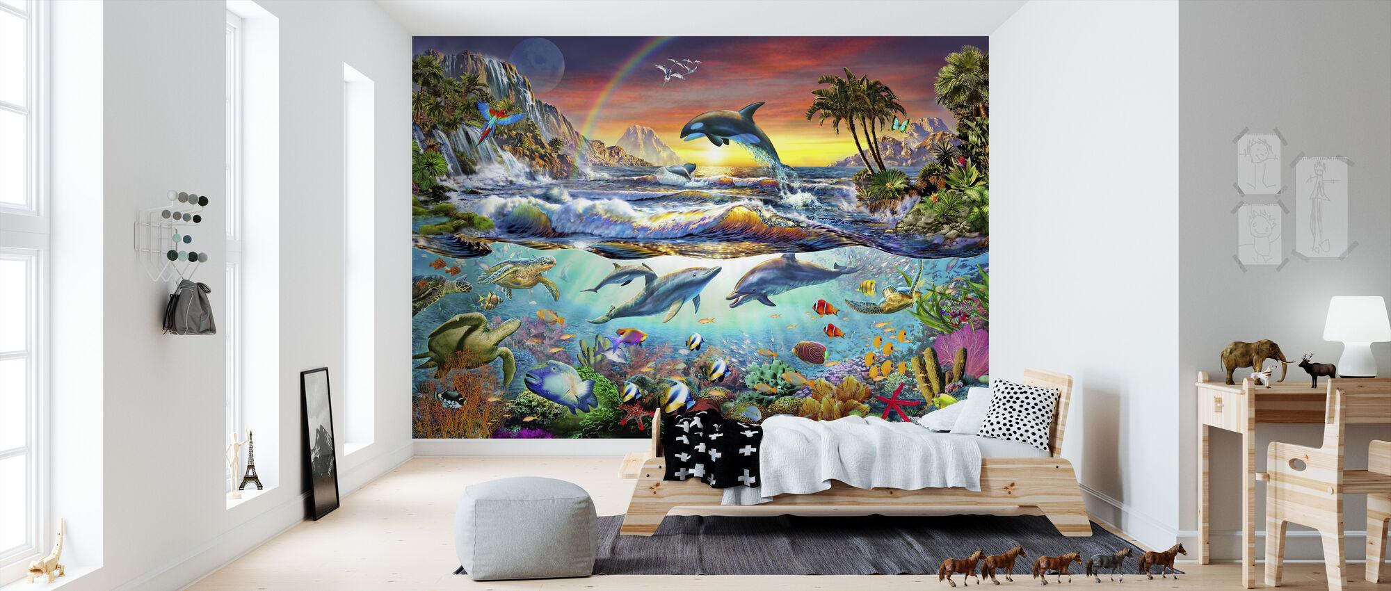 Paradise Cove - Wallpaper - Kids Room