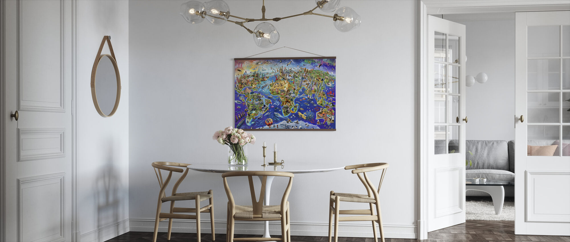 Gekke Wereld - Poster - Keuken