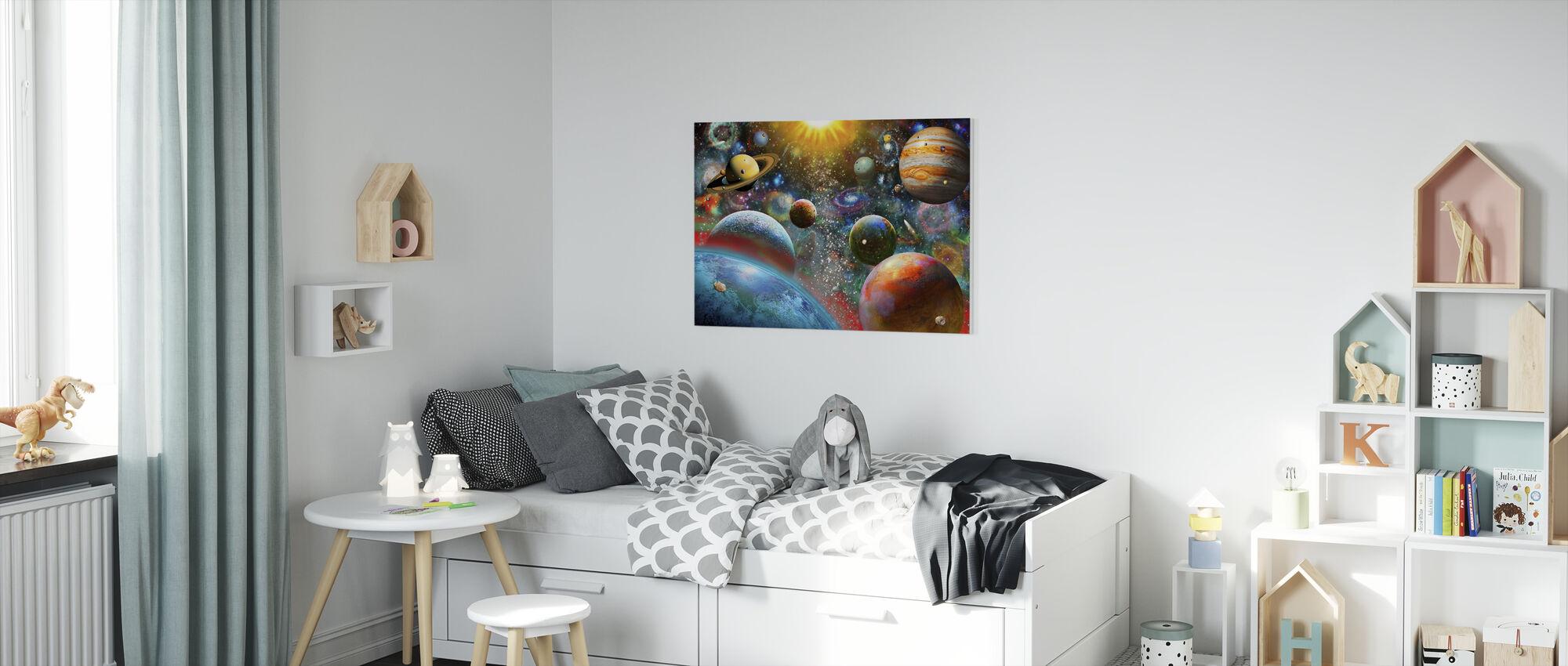 Firmament - Canvas print - Kids Room